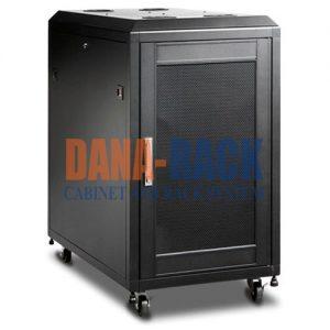 tủ rack 15u d600 den cua luoi