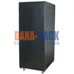 Tủ Rack 27U-D600 Màu Đen - Cửa Lưới