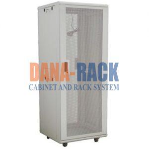 Tủ Rack 27U-D800 Màu Kem - Cửa Lưới