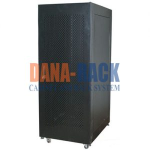 Tủ Rack 36U-D800 Màu Đen - Cửa Lưới